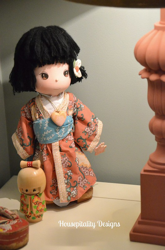 Precious Moments Japanese Doll