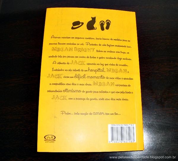 Contracapa e sinopse do livro Uma canção para Jack - Celia Bryce