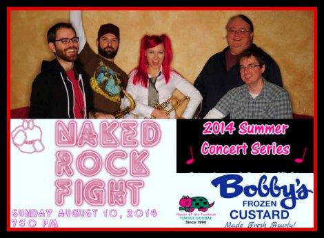 Naked Rock Fight 8-10-14
