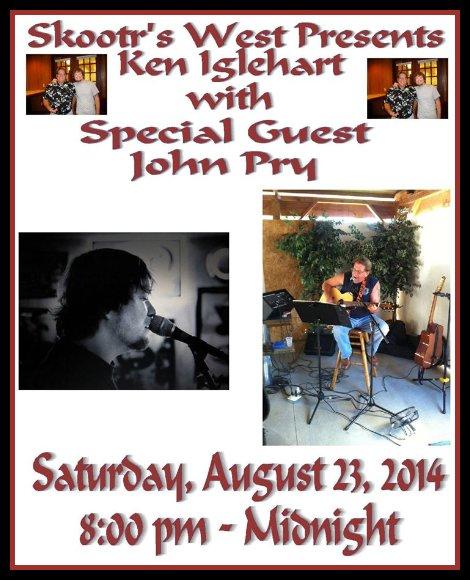 Ken Iglehart, John Pry 8-23-14