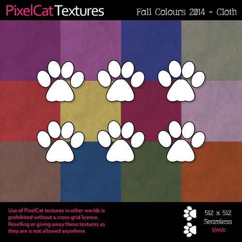 PixelCat Textures - Fall Colours - Cloth