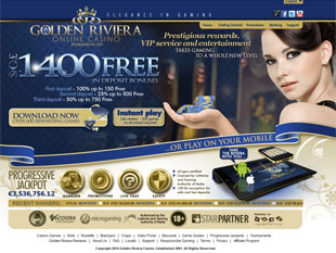 Golden Riviera Casino Home