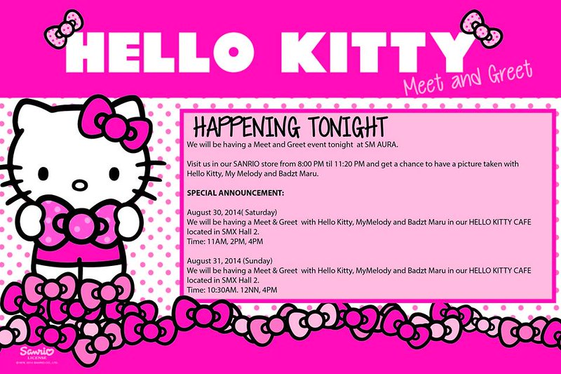 Is Hello Kitty Really Not A Cat? Ask Her Yourself!