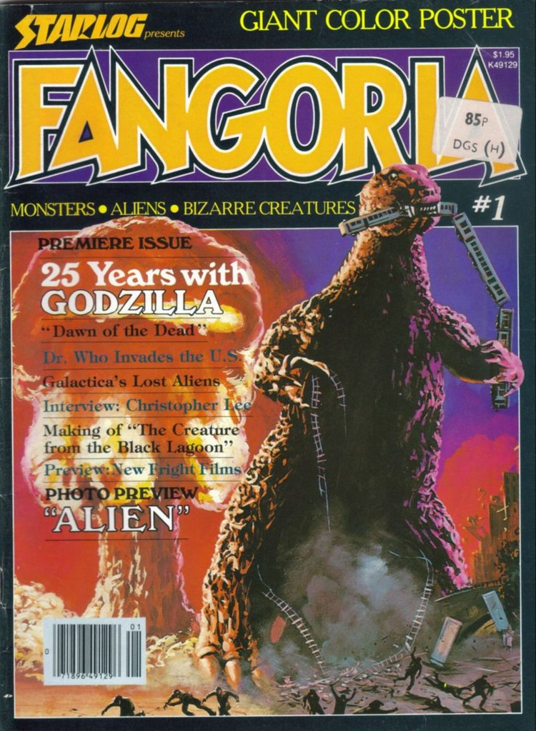 Fangoria 01 cover