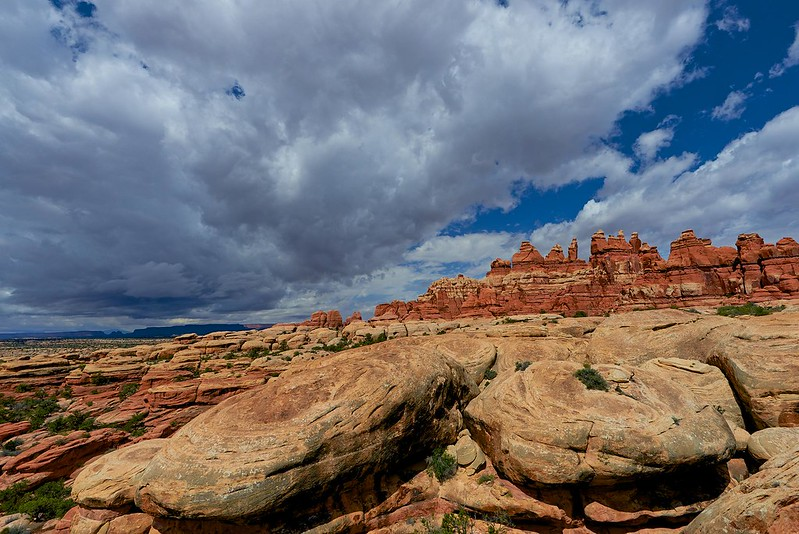 Thunderstorm over the Needles - Canyonlands National Park
