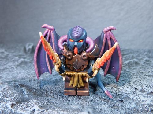 custom Lego minifigure - demon