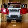 I just can't get over how gorgeous this truck looks. Scania R-Series Dump Truck by Bruder Toys of Germany. #brudertoys