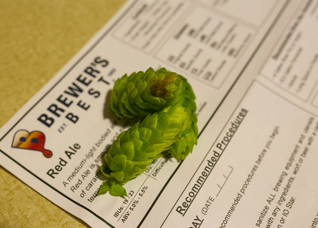 Fresh Hops and Red Ale