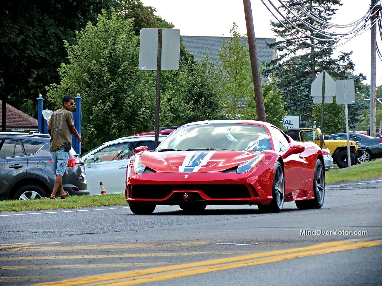 Ferrari 458 Speciale in New Hope, PA