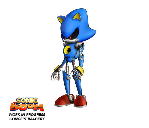Sonic Boom: Rise of Lyric Concept Art - Gamescom