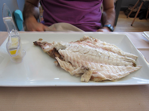Filleted Grilled Sea Bream