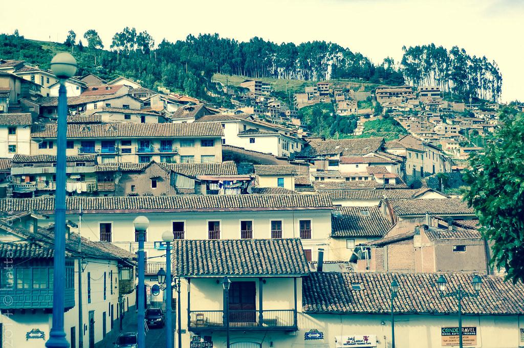Peru. Slums