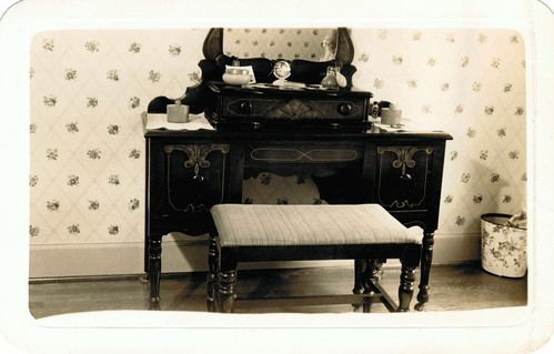 Bonnie Jean Yoder's dressing table - 1934