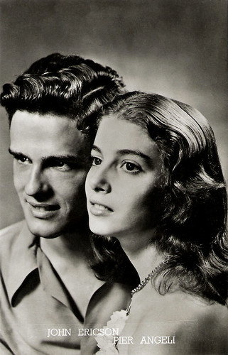 Pier Angeli and John Ericson in Teresa