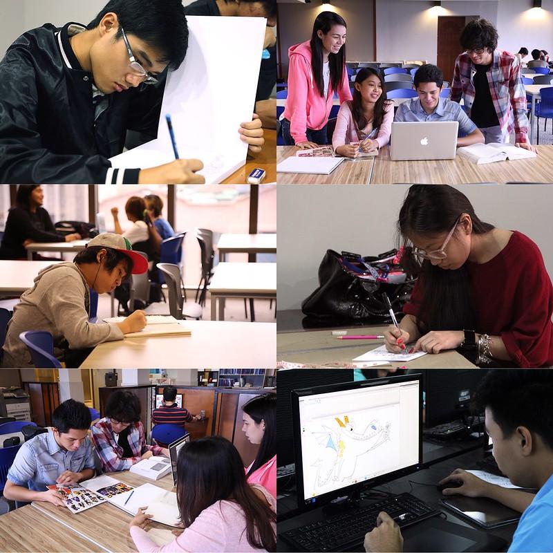 iAcademy students