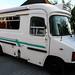 Ancienne ambulance de l'armée allemande reconvertie en autocaravane. Bedford Garage, Pays-Bas.