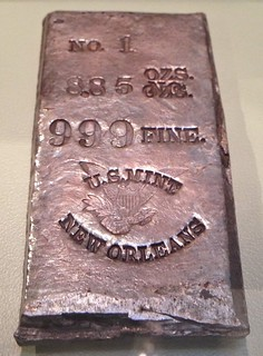 U.S. Mint New Orleans No. 1 silver bar