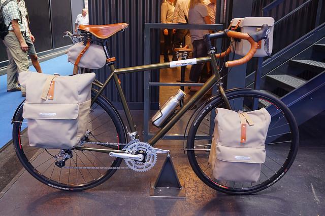 Tout Terrain Brooks Pannier Bags Eurobike 2014