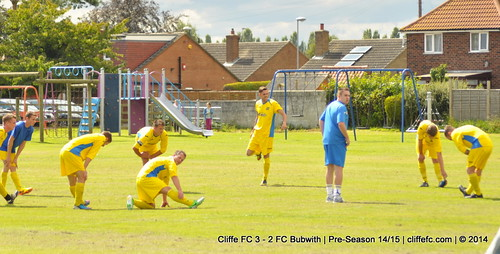 Cliffe FC 3 - 2 FC Bubwith 23Aug14