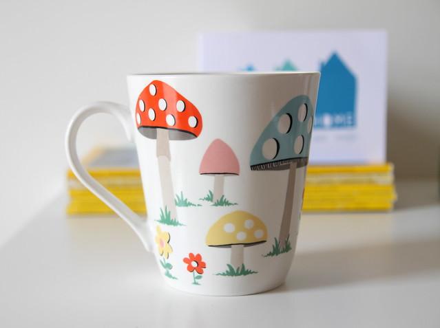 Cath Kidston mushroom cup