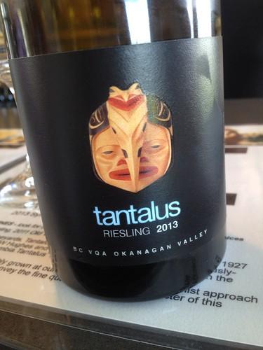 Tantalus Riesling 2013