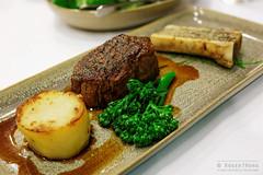 20140822-25-Eye fillet steak with bone marrow at Freycinet Lodge.jpg