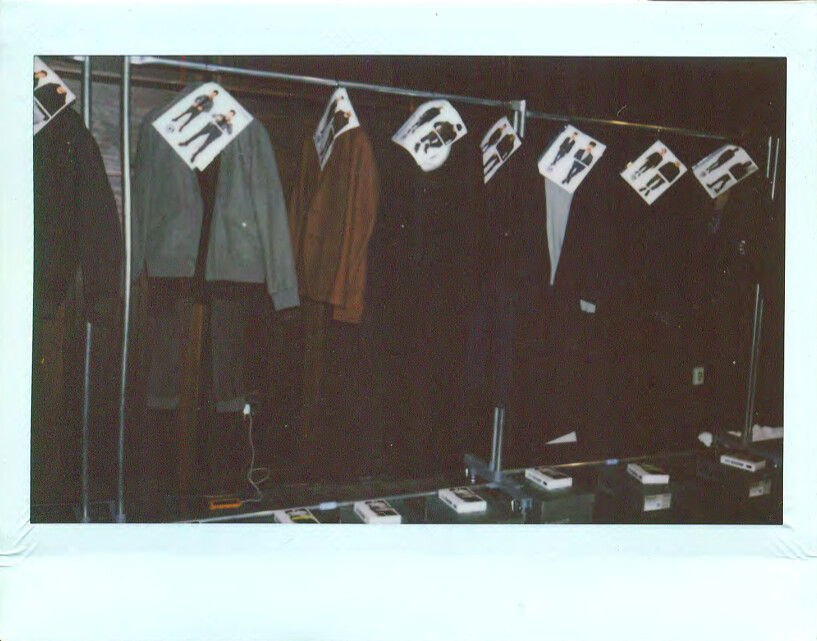 Backstage at Grungy Gentleman