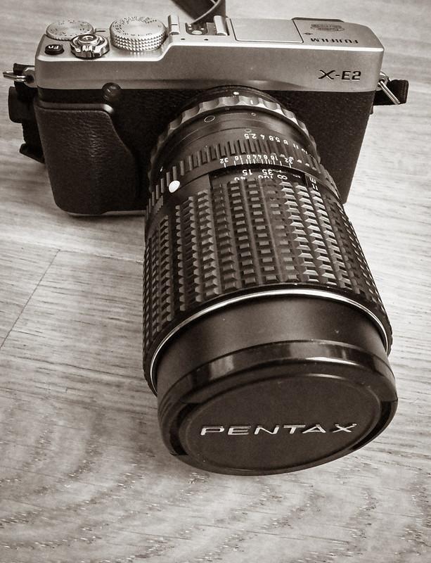 Fujifilm X-E2 et le pentax smc 135mm F2.5