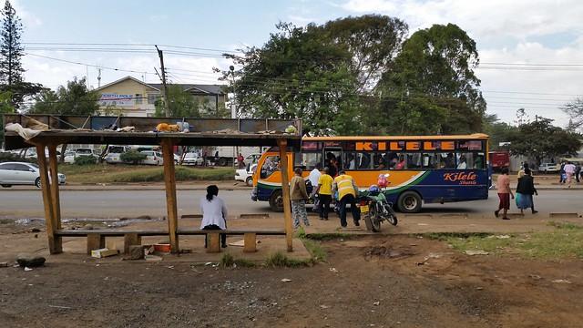 Adams arcade bus stop