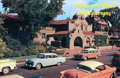Postcard: Alvarado Hotel, Albuquerque