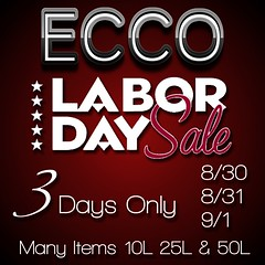 ECCO Labor Day Sale 2014
