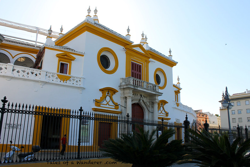 SEVILLA - Plaza de toros de la Real Maestranza de Caballería