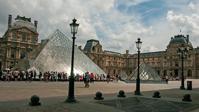 The Louvre by CC user bvi4092 on Flickr