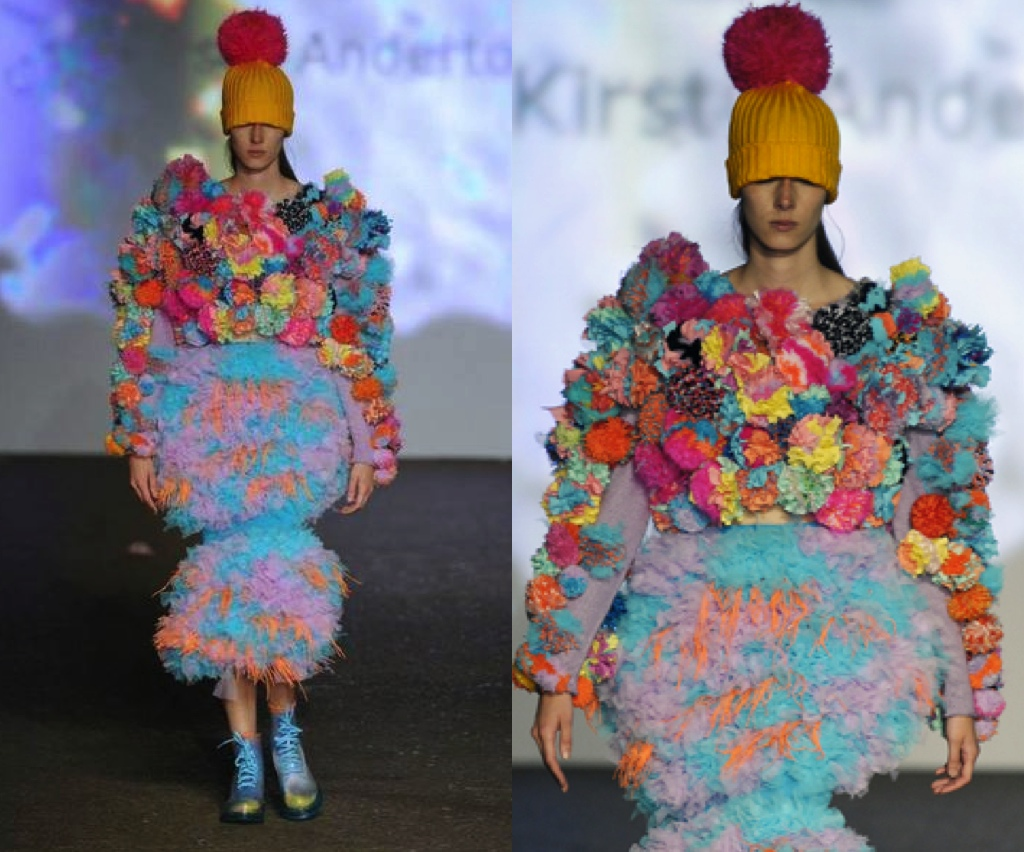 Pompom Jumper - Graduate Collection Kirsty Anderton