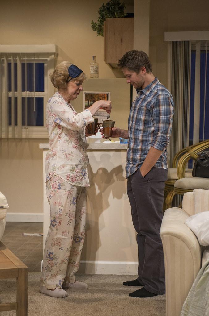 Linda Kimbrough (Judith) and Erik Hellman (Gabe)