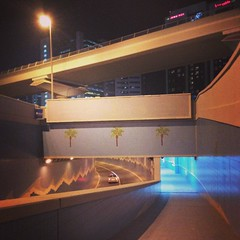 Another pedestrian tunnel in Sheikh Zayed #Road. #street #city #dubai