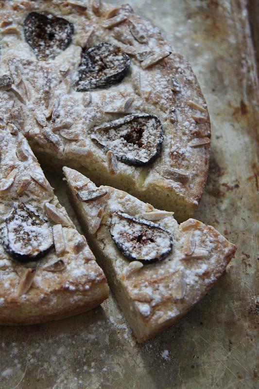 Fig ALmond Cake