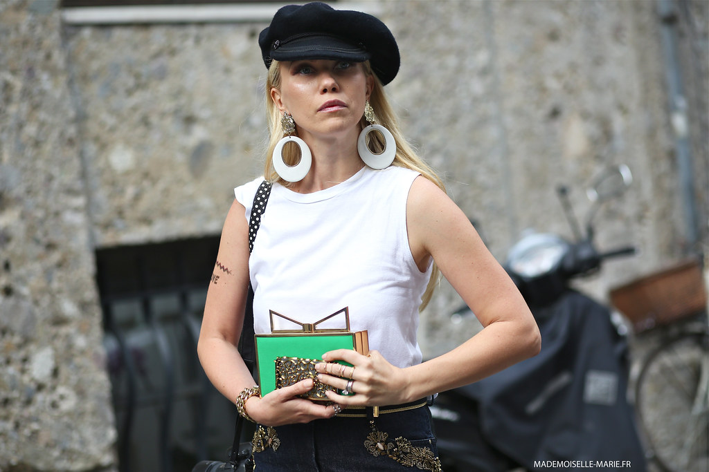 Zhanna Bianca at Milan fashion week-3 copie