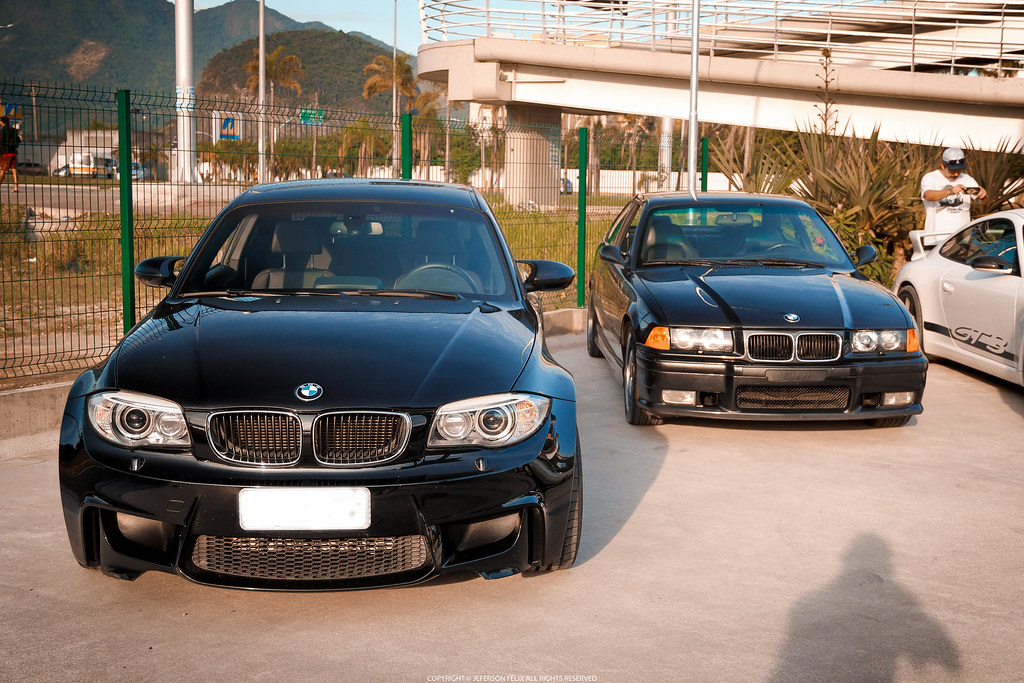 BMW 1M & M3