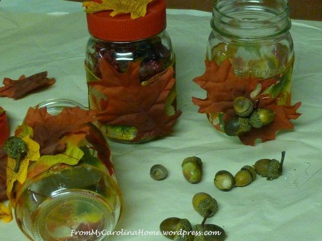 Jar acorns