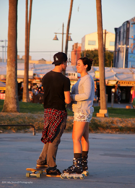 Beach skaters