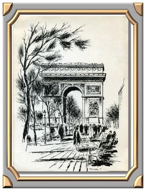 Arc de Triomphe. Ortiz ALFAU