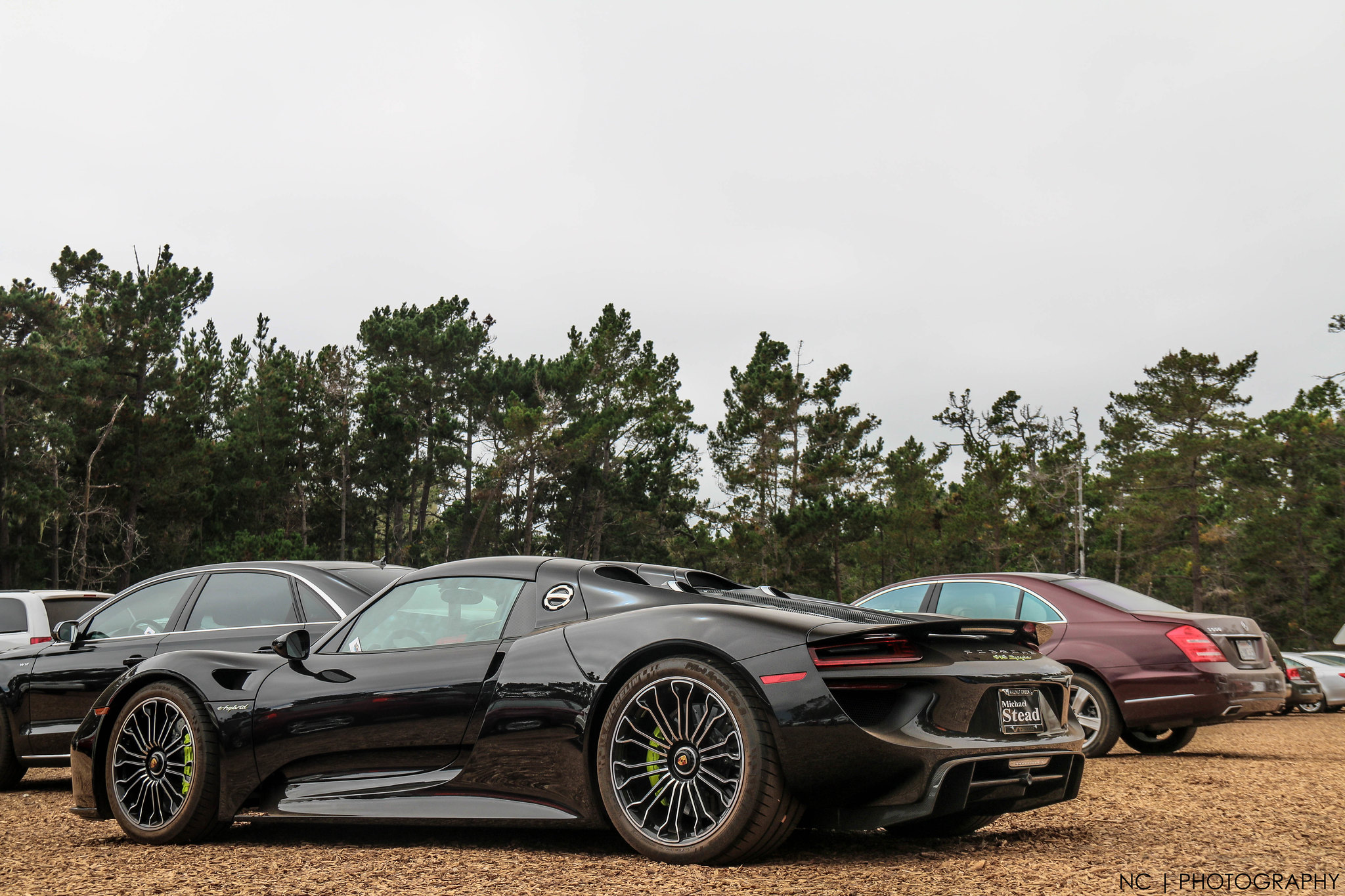 porsche 918 spyder in black os 2048 x 1365