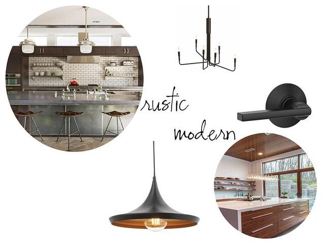 rustic modern contemporary design