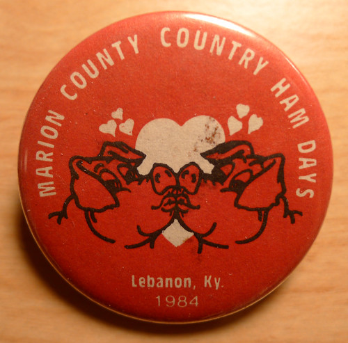 Marion County Country Ham Days 1984 Button