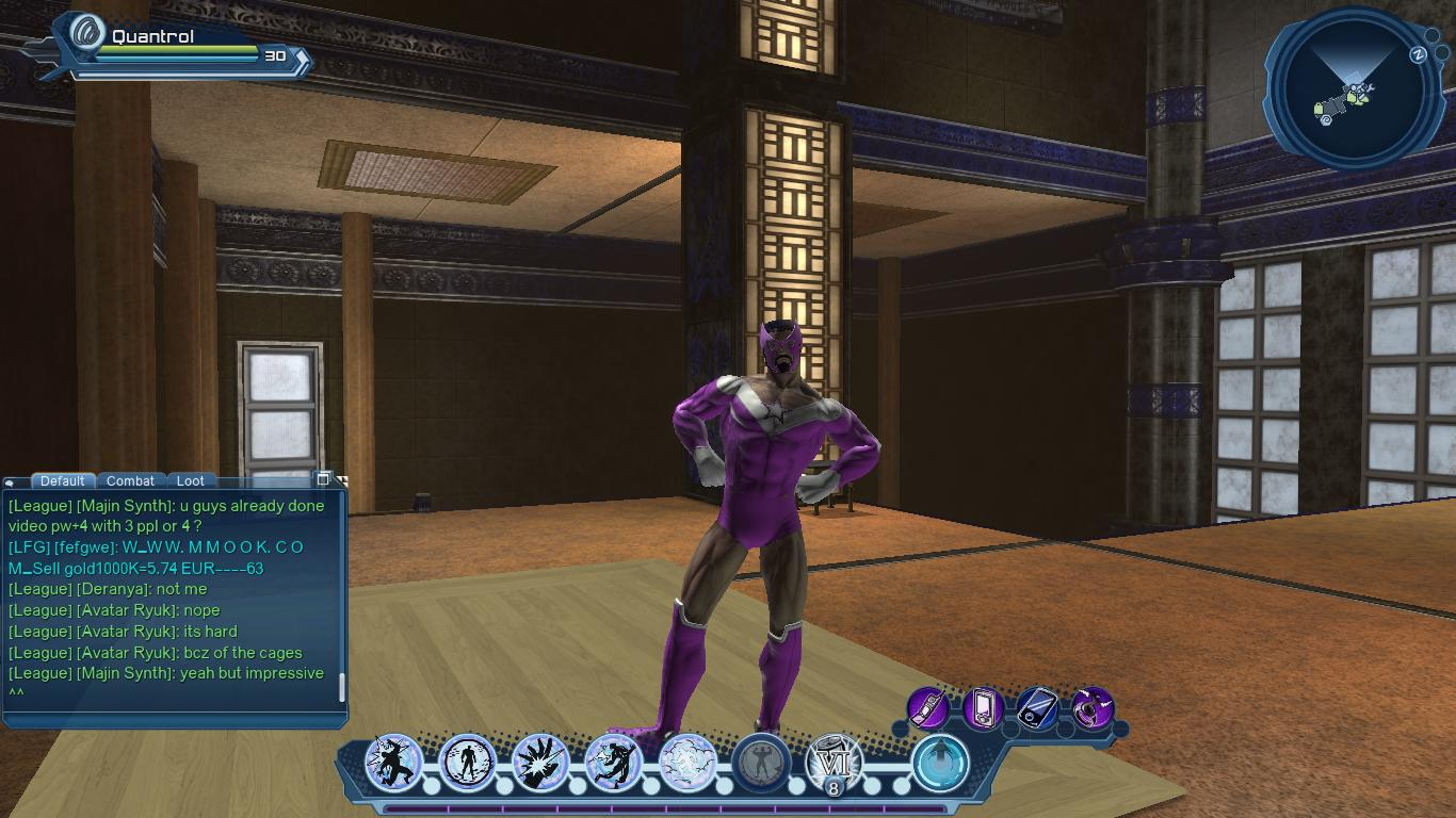 DCUO Star Sapphire Male outfit and palette | DC Universe