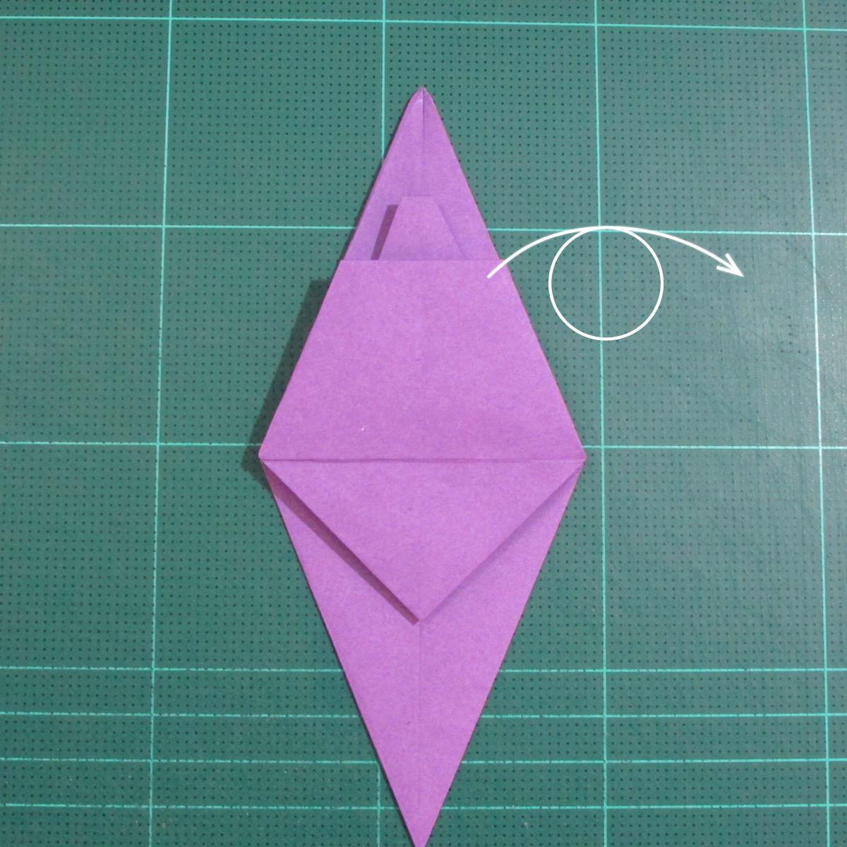 วิธีพับกระดาษเป็นรูปเต่าแบบง่าย (Easy Origami Turtle) 012