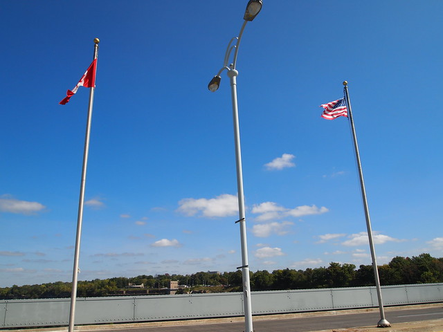 P9207833 カナダ,アメリカ,レインボーブリッジ,Rainbow Bridge,Niagara Falls,Ontario,Canada