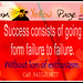 Business Success Mantra - Success consist of going from failure to failure.Withpout loss of enthuiasm Ph 9435203677