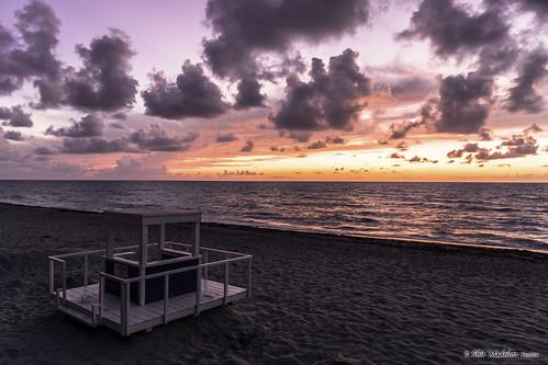 beach clouds sunrise florida shoreline fl sunshinestate hollywoodbeach hollywoodfl sonyalphadslr sonyphotographing cloudsstormssunsetssunrises sapforutilities2014